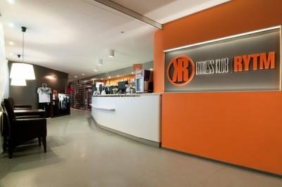 Recepcja w fitness klubie Rytm - Bałuty