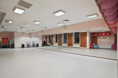 Fitness Klub Rytm - sala do zajęć grupowych
