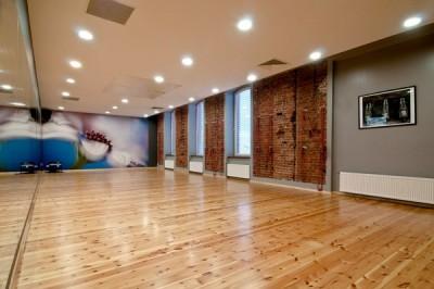 Fitness Klub Rytm - sala treningowa joga
